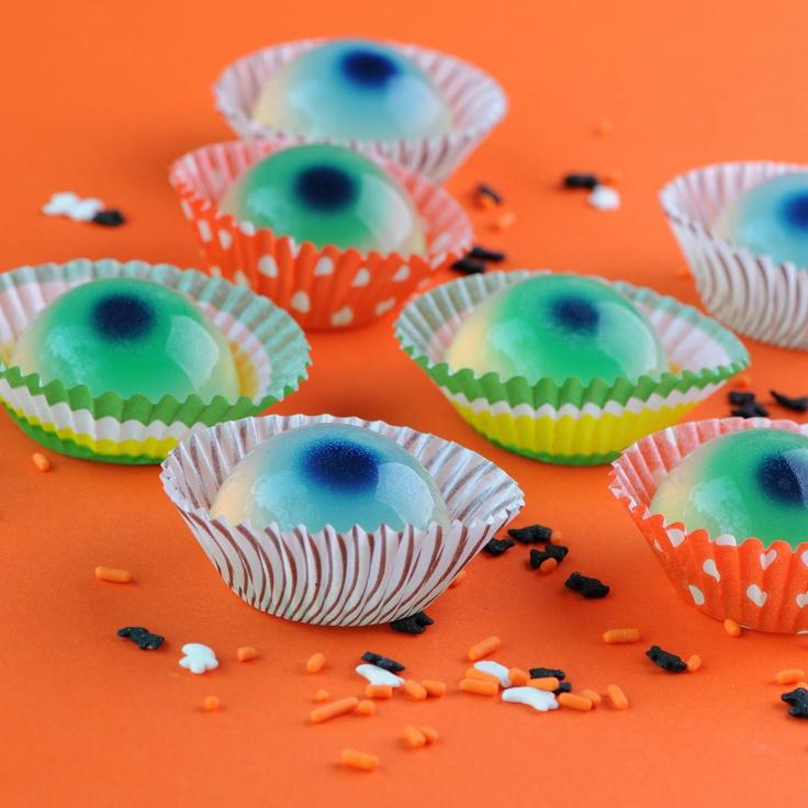 jello shots gelatina ojos